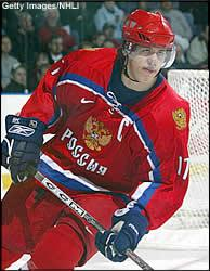 Picture of Evgni Malkin with Russia
